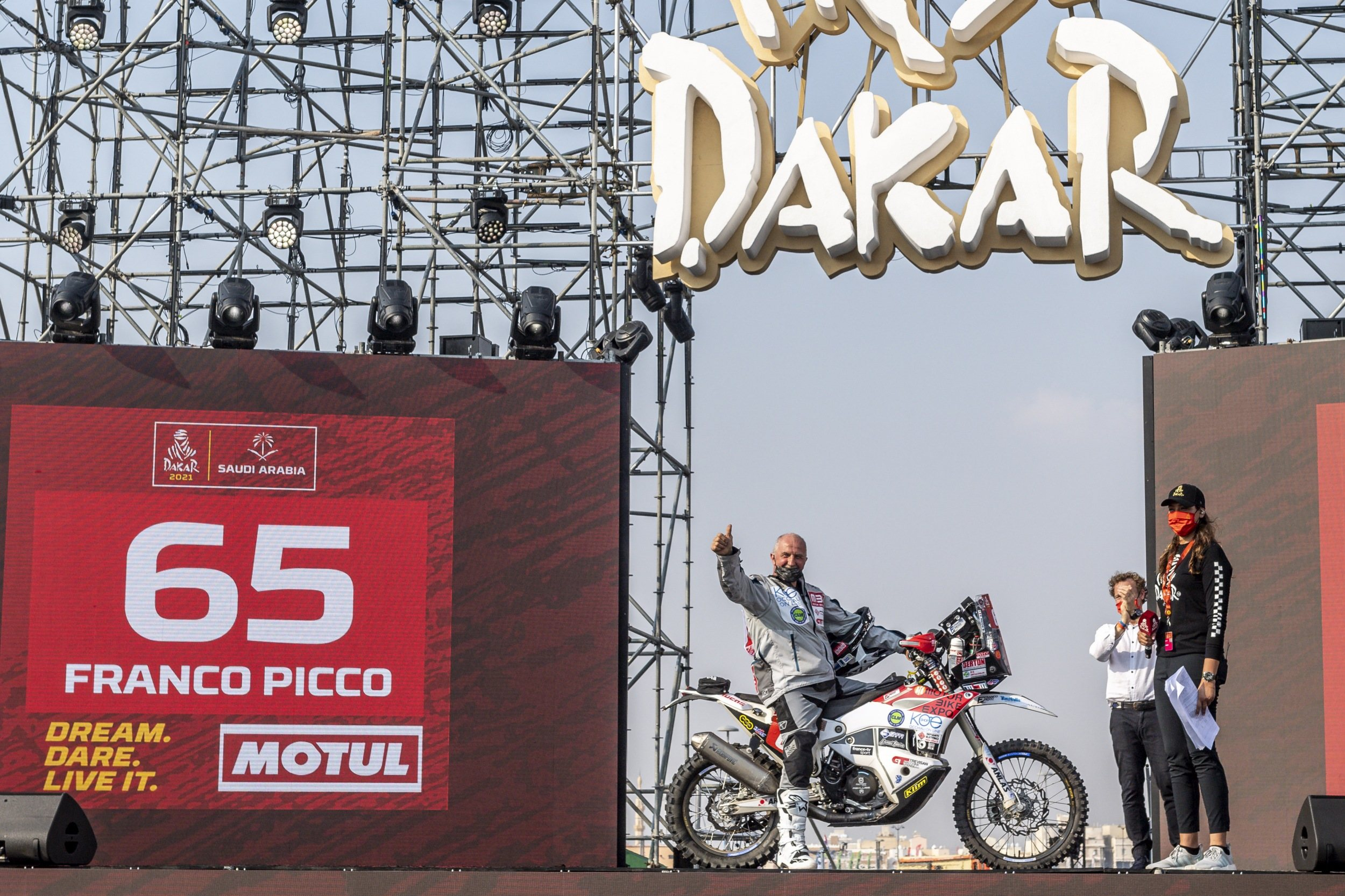BACK TO DAKAR RACE